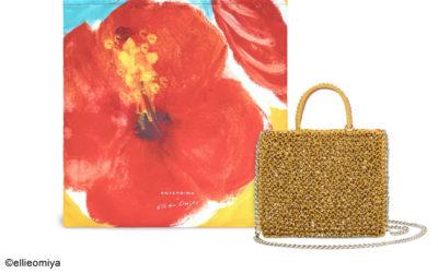 「ANTEPRIMA(アンテプリマ)」、大宮エリー氏とコラボ アート感の高いワイヤーバッグを発売