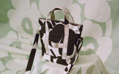 「Marimekko(マリメッコ)」、アップサイクルバッグを発売 ウニッコ柄でパッチワーク風に