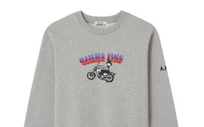 「A.P.C.(アー・ペー・セー)」、INTERACTION企画の第11弾を発売 タイムレスな表情のTシャツやスエットシャツ