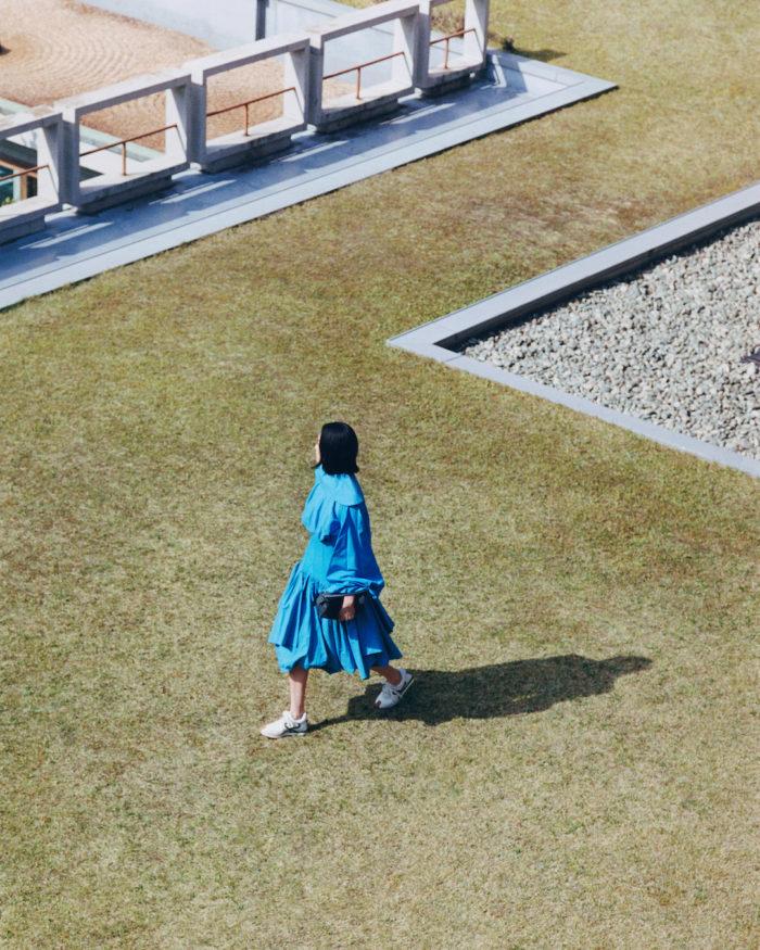 """6「LOEWE(ロエベ)」、""""パズルエッジ バッグ""""を発売 CHIHARUさんをフィーチャー"""