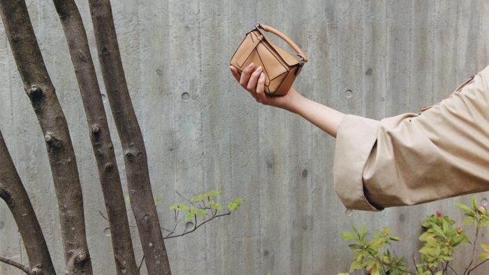 """9「LOEWE(ロエベ)」、""""パズルエッジ バッグ""""を発売 CHIHARUさんをフィーチャー"""