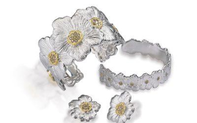 花モチーフのリングやブレスレット 「Buccellati(ブチェラッティ)」、シルバージュエリーBLOSSOM(ブロッサム)コレクションを発売