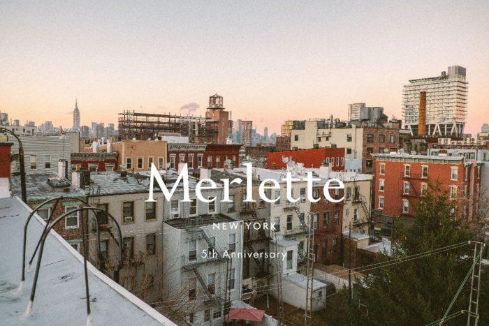 「Merlette(マーレット)」、ブランド設立5周年を記念し、ティアードドレスを発売