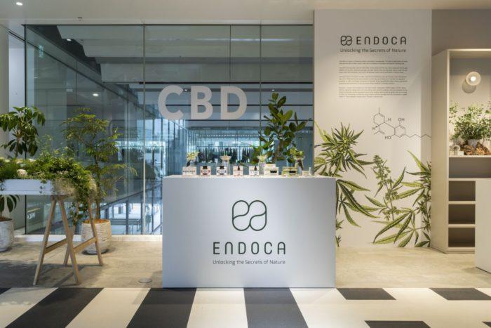 """""""CBDガーデン""""がテーマ 「ENDOCA(エンドカ)」、渋谷PARCOでポップアップを開催"""