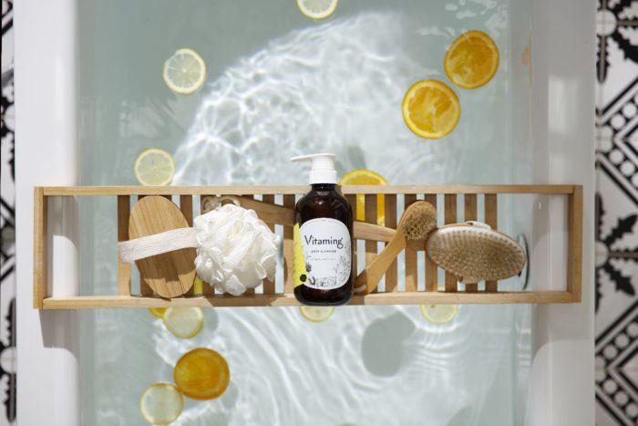 ビタミンと植物エッセンシャルオイルを配合 「バイタミング リフレッシング・ボディソープ」を発売