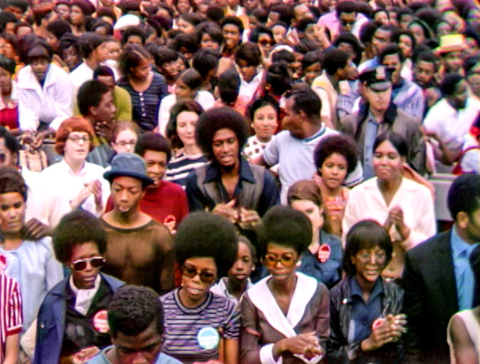 The Harlem Cultural Festival in 1969, featured in the documentary SUMMER OF SOUL. Photo Courtesy of Searchlight Pictures. © 2021 20th Century Studios All Rights Reserved