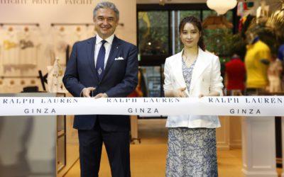 銀座に新名所 「ラルフ ローレン 銀座」がオープン 女優・土屋太鳳さんがカスタマイズサービス「CYO」を体験