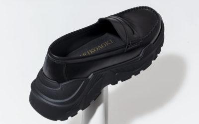 ローファーをベースに、ソールはスニーカー AKIKOAOKIの「noon(ヌーン)」、ブランド初となるシューズを発売