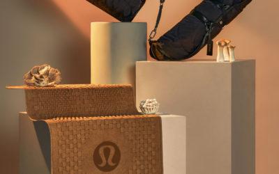 キノコの根が原料 「lululemon(ルルレモン)」、Mylo™素材を採用したヨガアクセサリーを発表