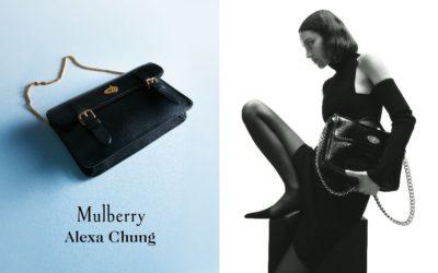 「Mulberry(マルベリー)」、アレクサ・チャンとコラボ カプセルコレクションを発売