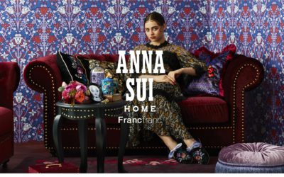 「Francfranc(フランフラン)」と「ANNA SUI(アナ スイ)」がコラボ インテリアシリーズを発売