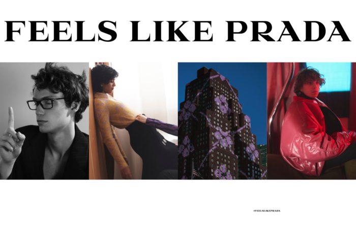 「PRADA(プラダ)」、2021-22年秋冬シーズンのレディス&メンズ広告キャンペーンを発表