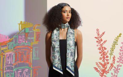 エディンバラの魅力を写し込んだシルクスカーフ発売 「STRATHBERRY(ストラスベリー)」、地元大学とコラボ
