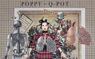 """「Q-pot.」と米アーティストPoppyが異色のコラボ """"シュールとKawaii""""が共存するダークファンタジー"""