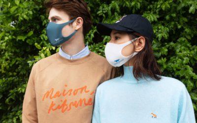 スタイリッシュなフェイスマスクを発表 「Maison Kitsuné(メゾンキツネ)」と「PITTA MASK(ピッタ・マスク)」がコラボ