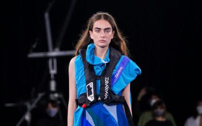 「D-VEC(ディーベック)」、2022年春夏コレクションを発表 モード感が高まり、プレイフルな着映えに