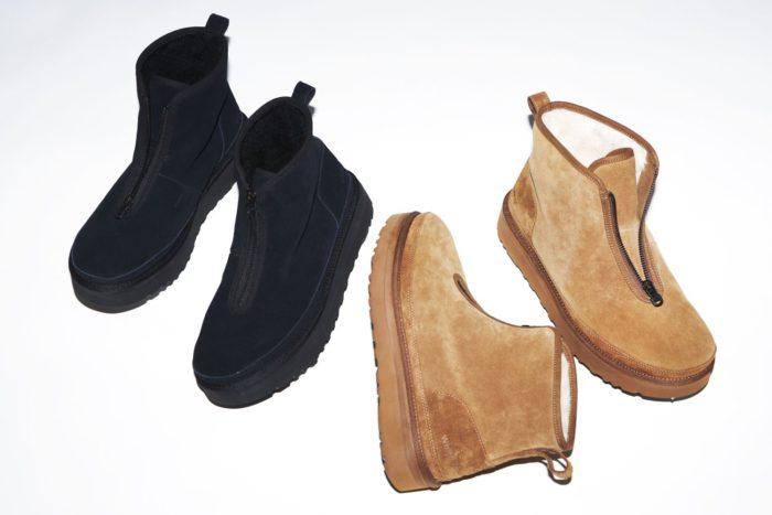「UGG®」と「ホワイトマウンテニアリング」のコラボ第5弾 ブーツとスニーカーを発売