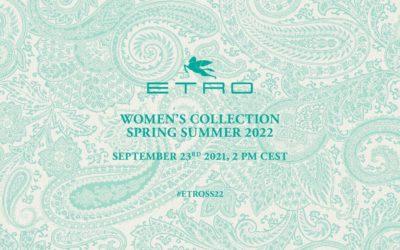 「ETRO(エトロ)」2022年春夏コレクション・ランウェイショー ライブストリーミング