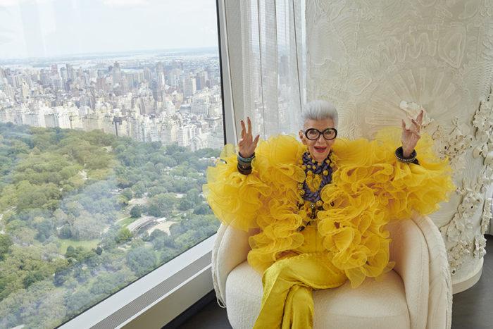エイジレスファッションの100歳のアイコンに敬意 H&M、Iris Apfel(アイリス・アプフェル)さんとコラボ