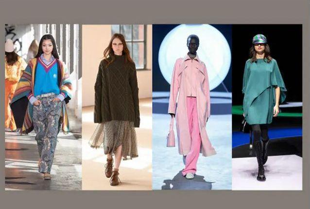 2021-22秋冬ファッショントレンド 外へ向かう華やぎ取り戻す