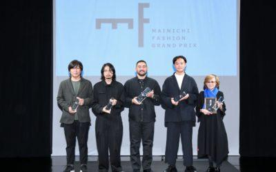 2021年度(第39回)毎日ファッション大賞の授賞式開催 「TOMO KOIZUMI(トモ コイズミ)」の小泉智貴氏が大賞受賞 ぶれない「我が道を行く」志向に評価