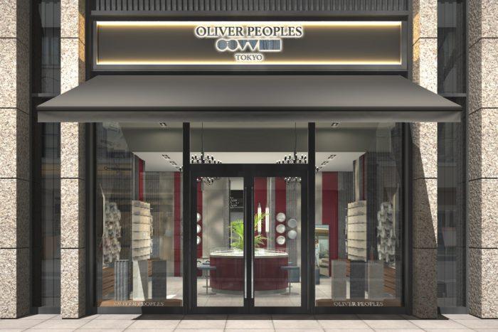 「OLIVER PEOPLES(オリバーピープルズ)」、東京・丸の内にフラッグシップ・ブティックをオープン