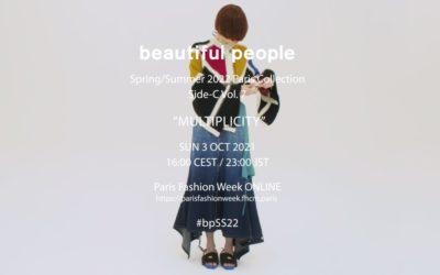 「beautiful people(ビューティフルピープル)」2022年春夏コレクション・デジタルショー
